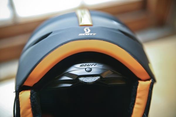 Scott Symbol Helmet backside closeup