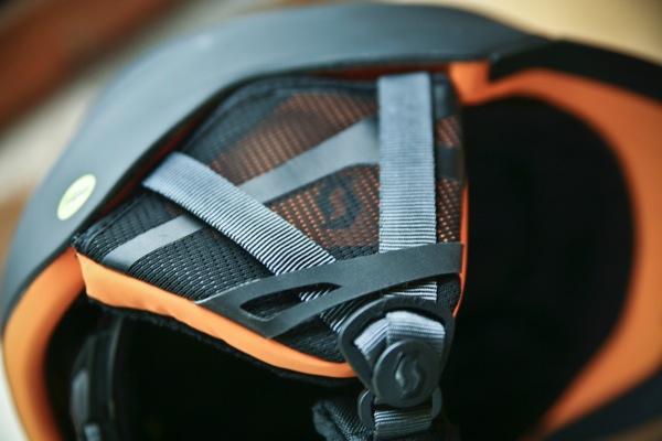 inside of Scott Symbol Helmet