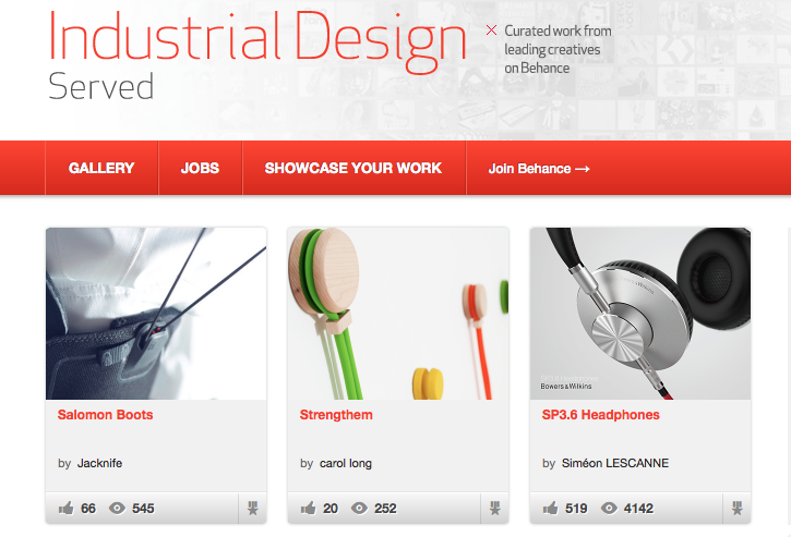 Featured in Industrial Design Served
