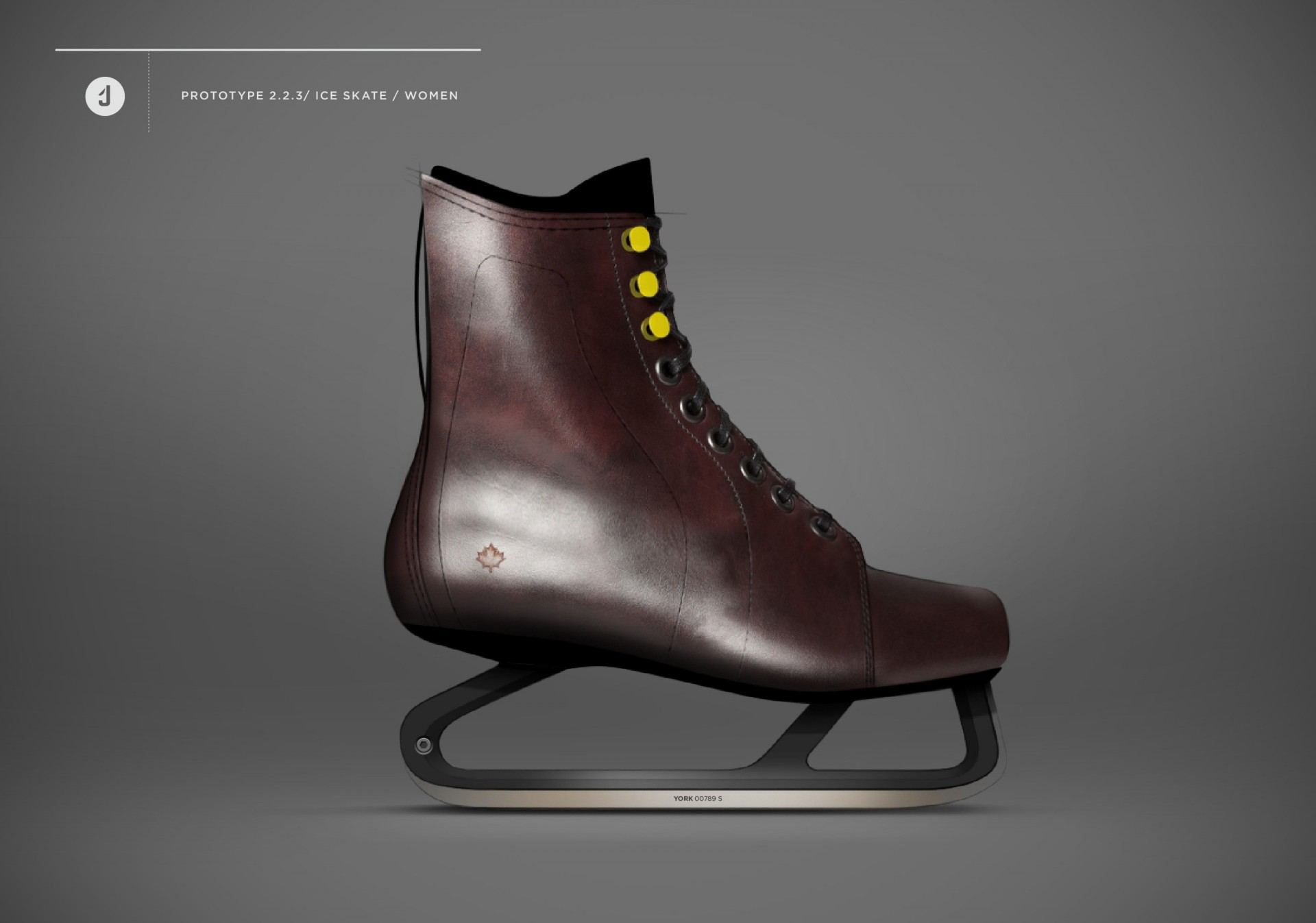 new ice skate design