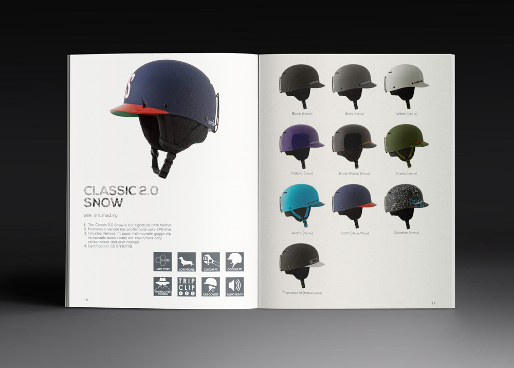 Helmet design booklet
