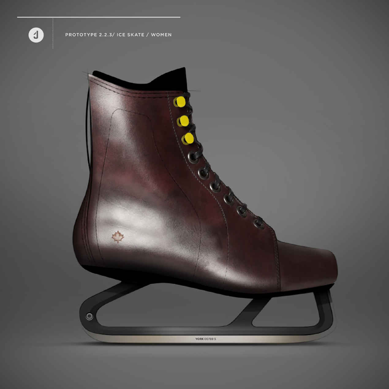ice skate product design example