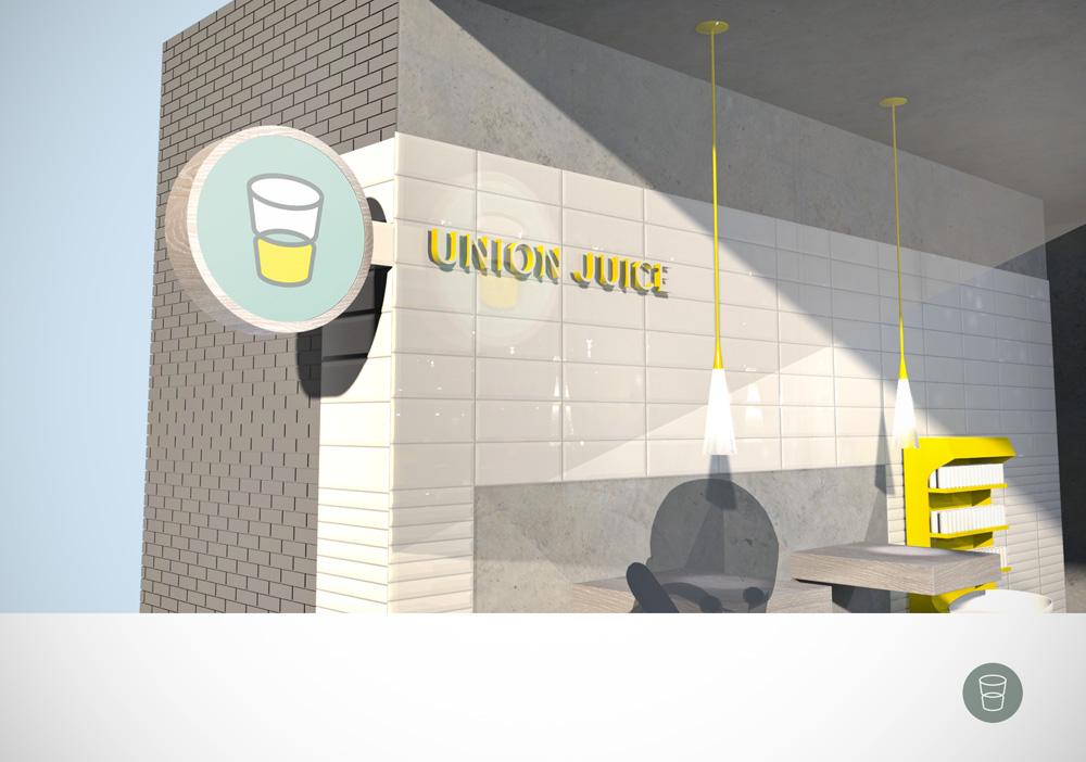 union juice branding