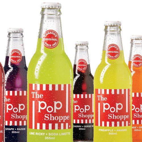 new pop shoppe branding