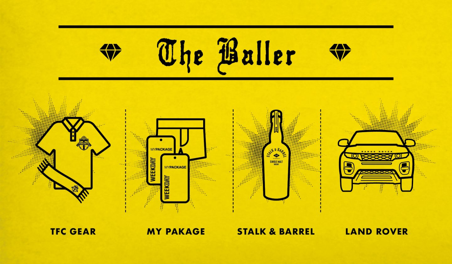The Baller Holiday Gift Guide Poster