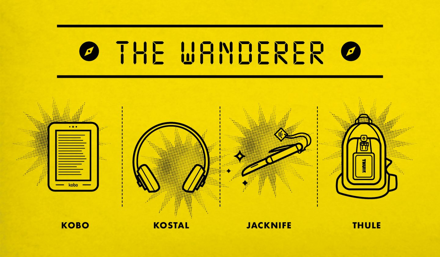 The Wanderer Holiday Gift Guide Poster