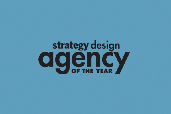 strategy design agency of the year logo