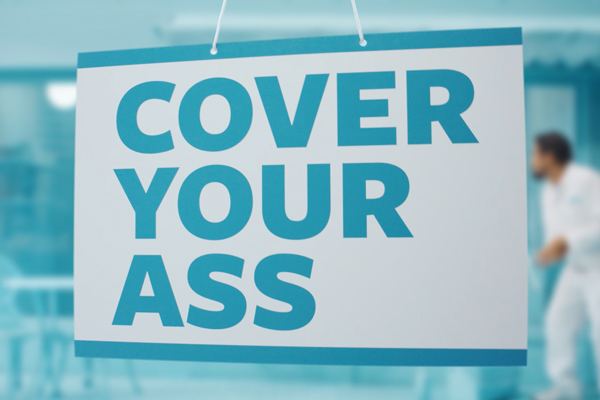 trushield slogan cover your ass