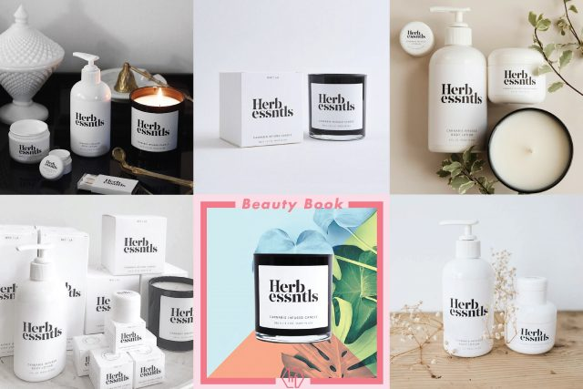 Herb Essentials cannabis branding