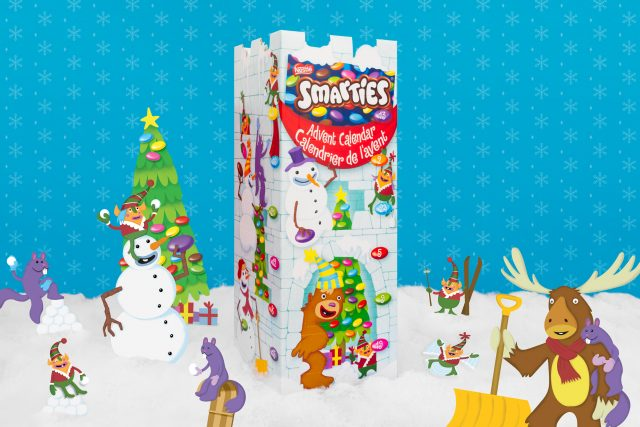 smarties giftables castle