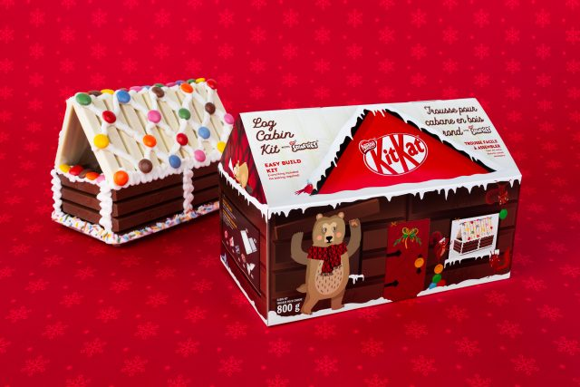 kitkat log cabin giftables